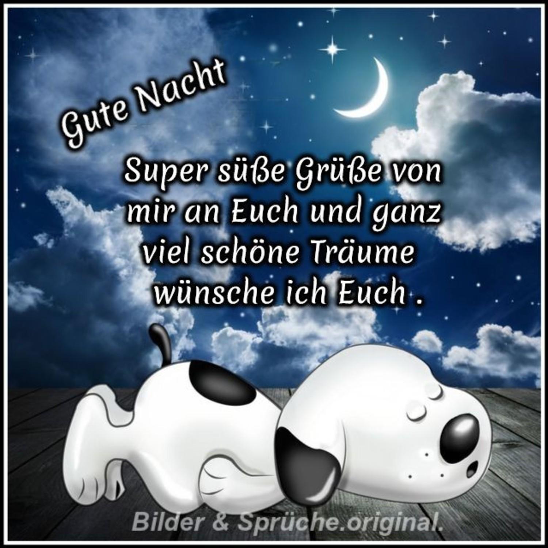 Per gute whatsapp nacht Gute Nacht