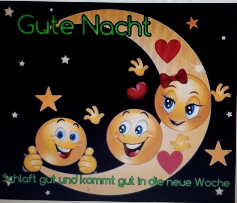 Smileys whatsapp gute nacht Gute Nacht