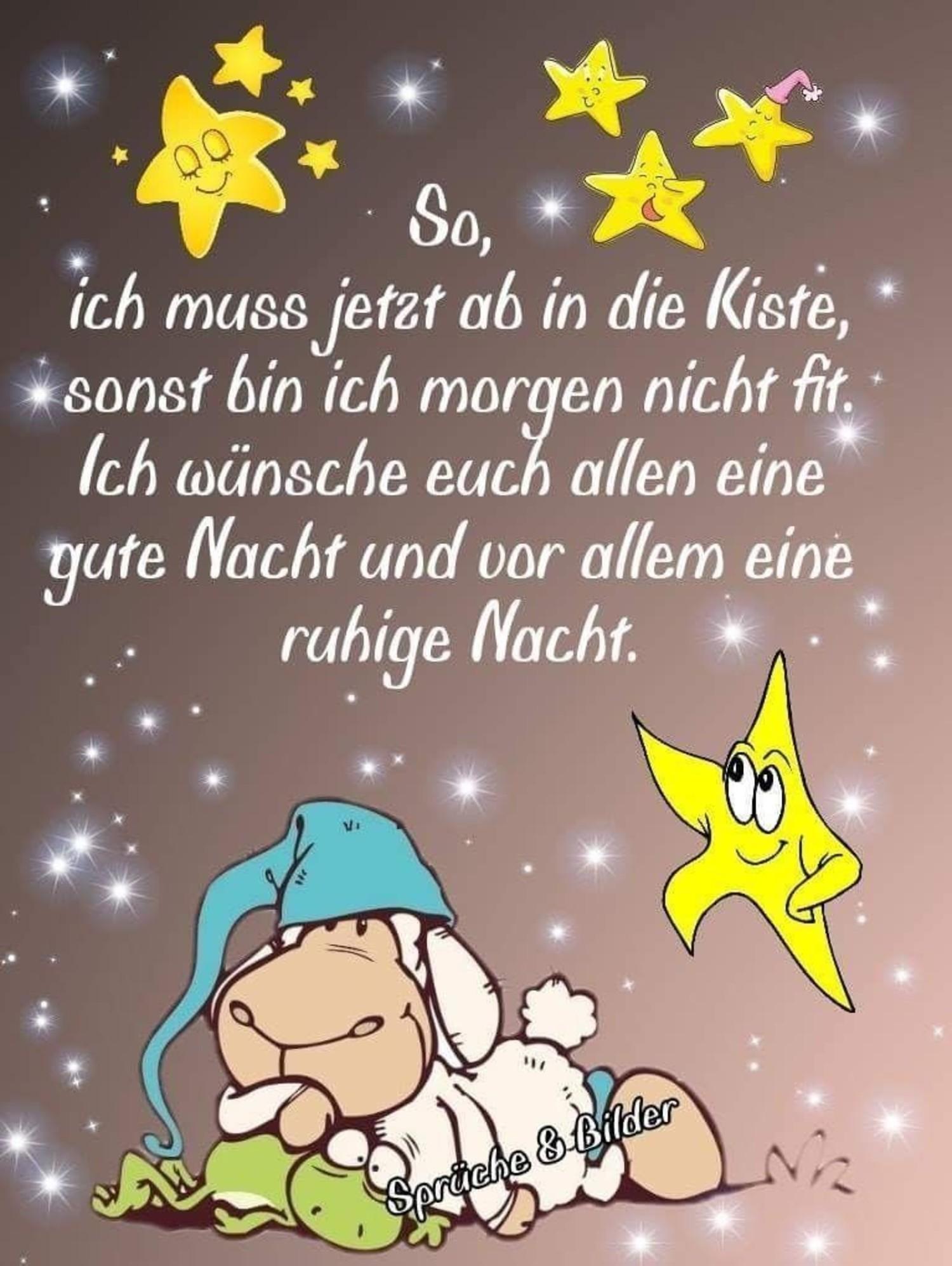 Gute Nacht und Süße Träume - GBPicsBilder.com