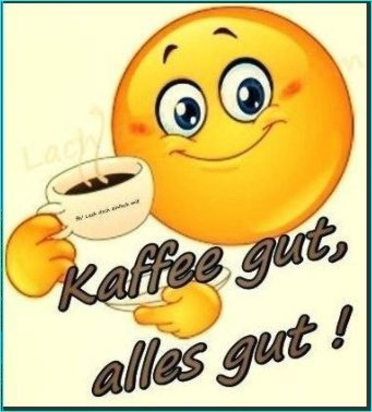 Kaffee gut alles gut 492