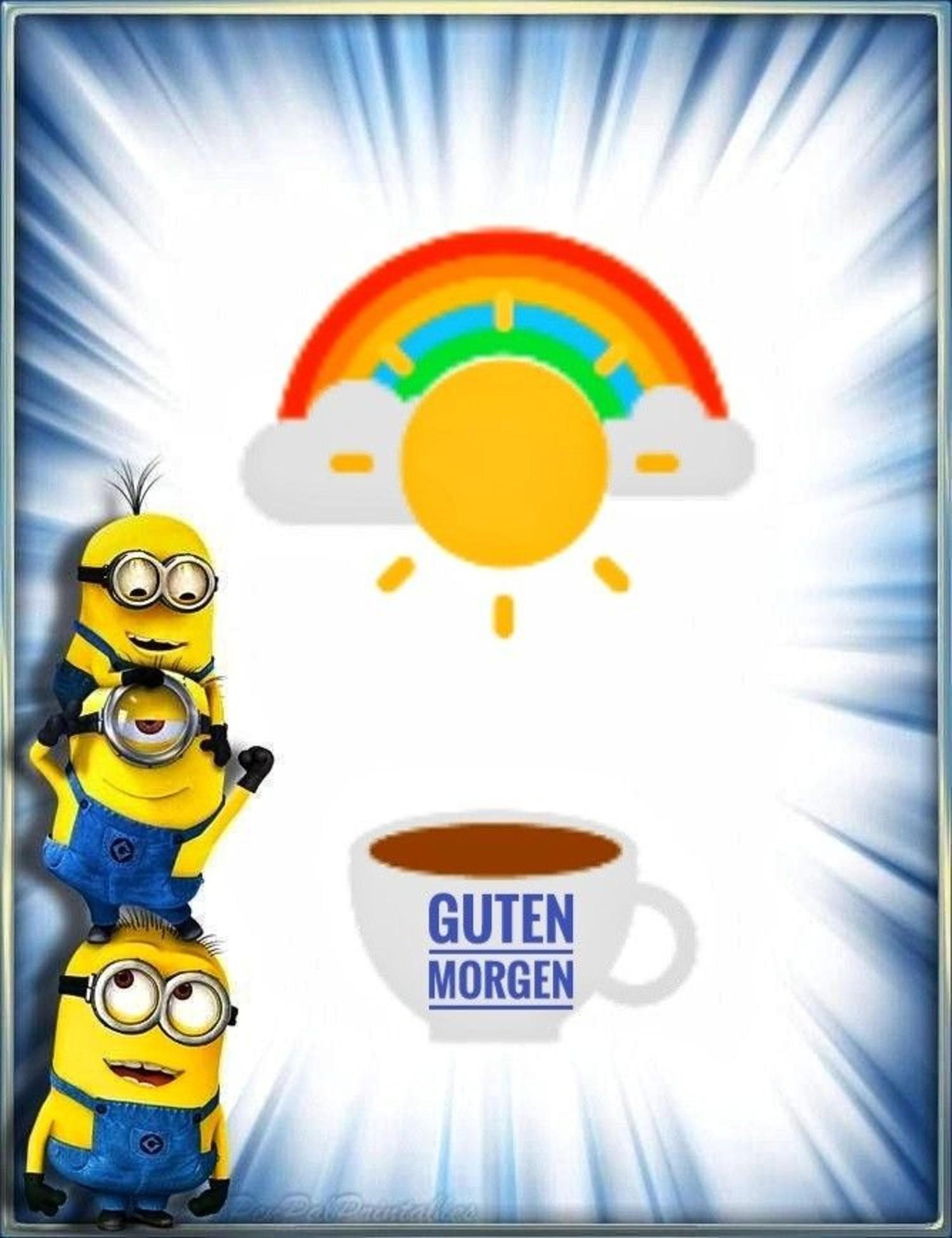 Minions Guten Morgen 375