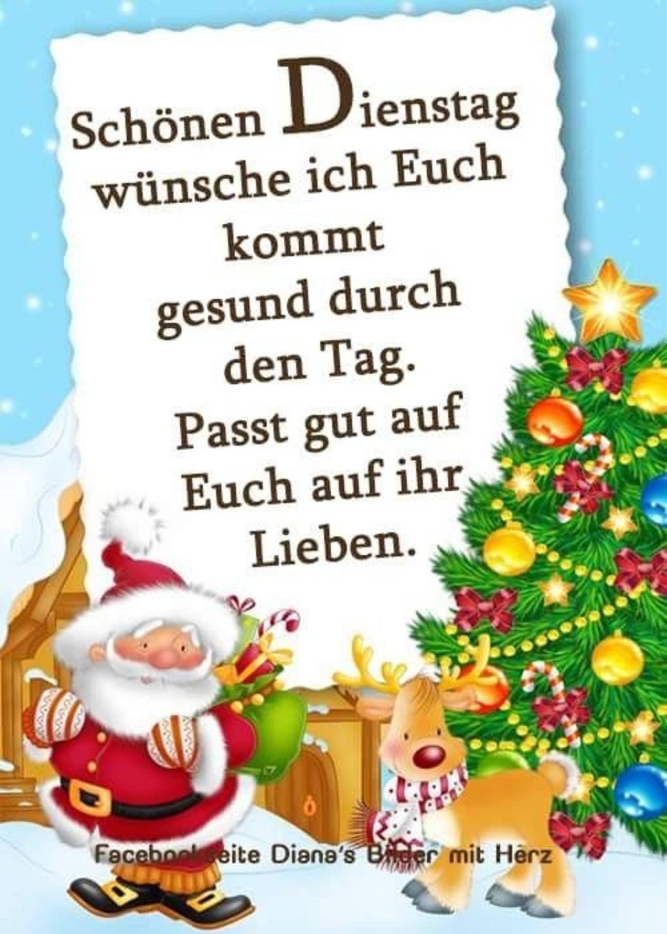 Guten Morgen Schönen Dienstag Weihnachten 123 Gbpicsbildercom