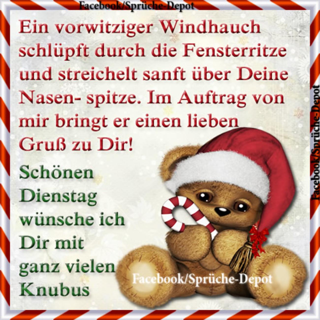 Guten Morgen Schönen Dienstag Weihnachten Gbpicsbildercom