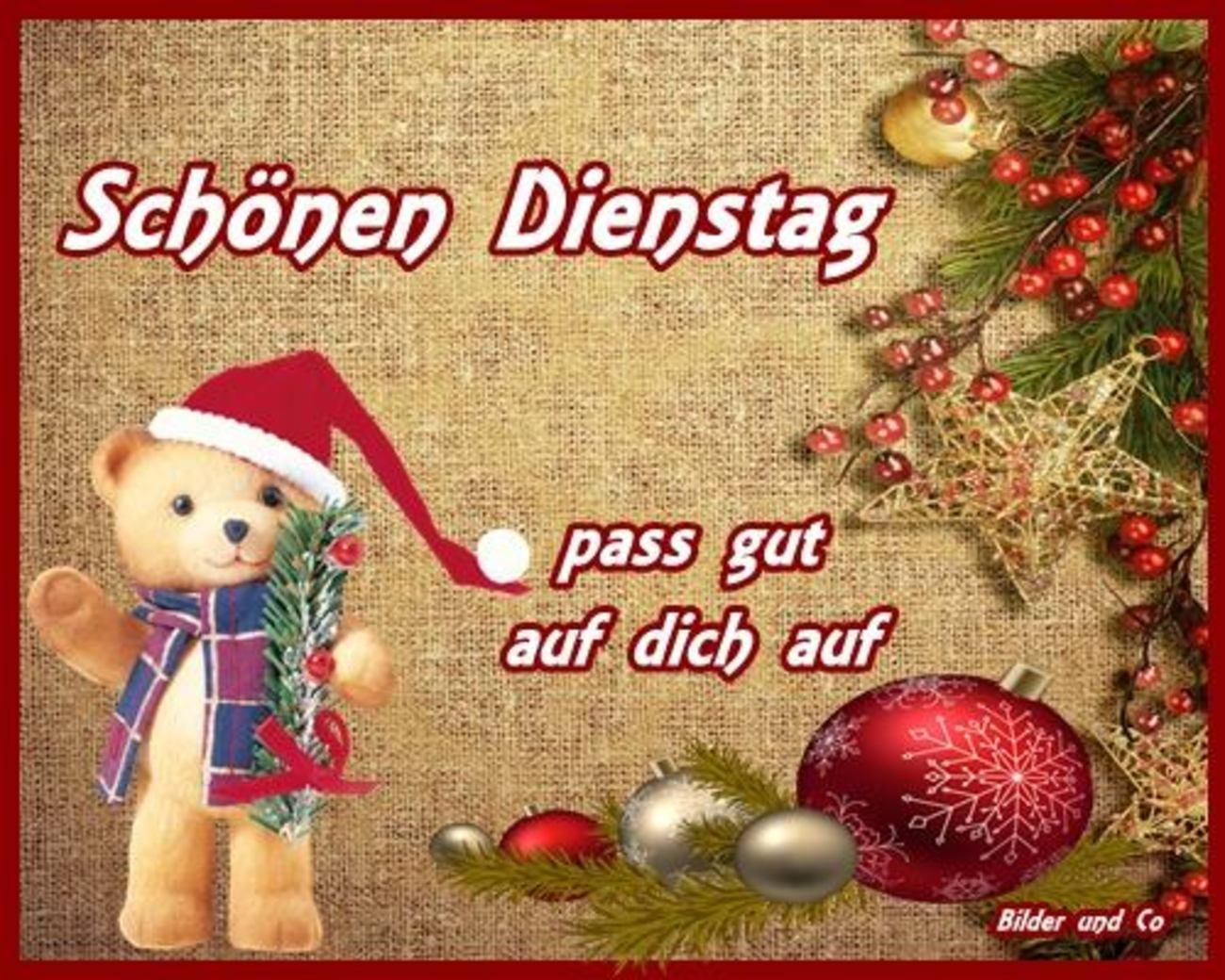 Guten Morgen Schönen Dienstag Weihnachten 86 Gbpicsbildercom