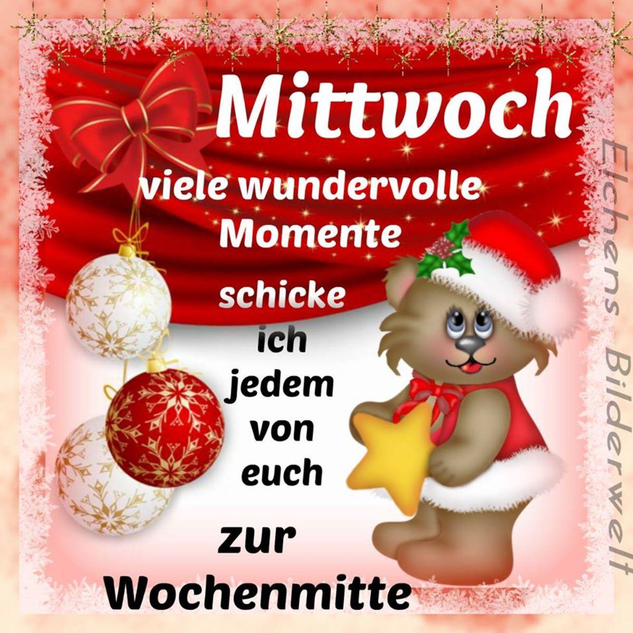 Schönen Mittwoch Weihnachten 23 Gbpicsbildercom