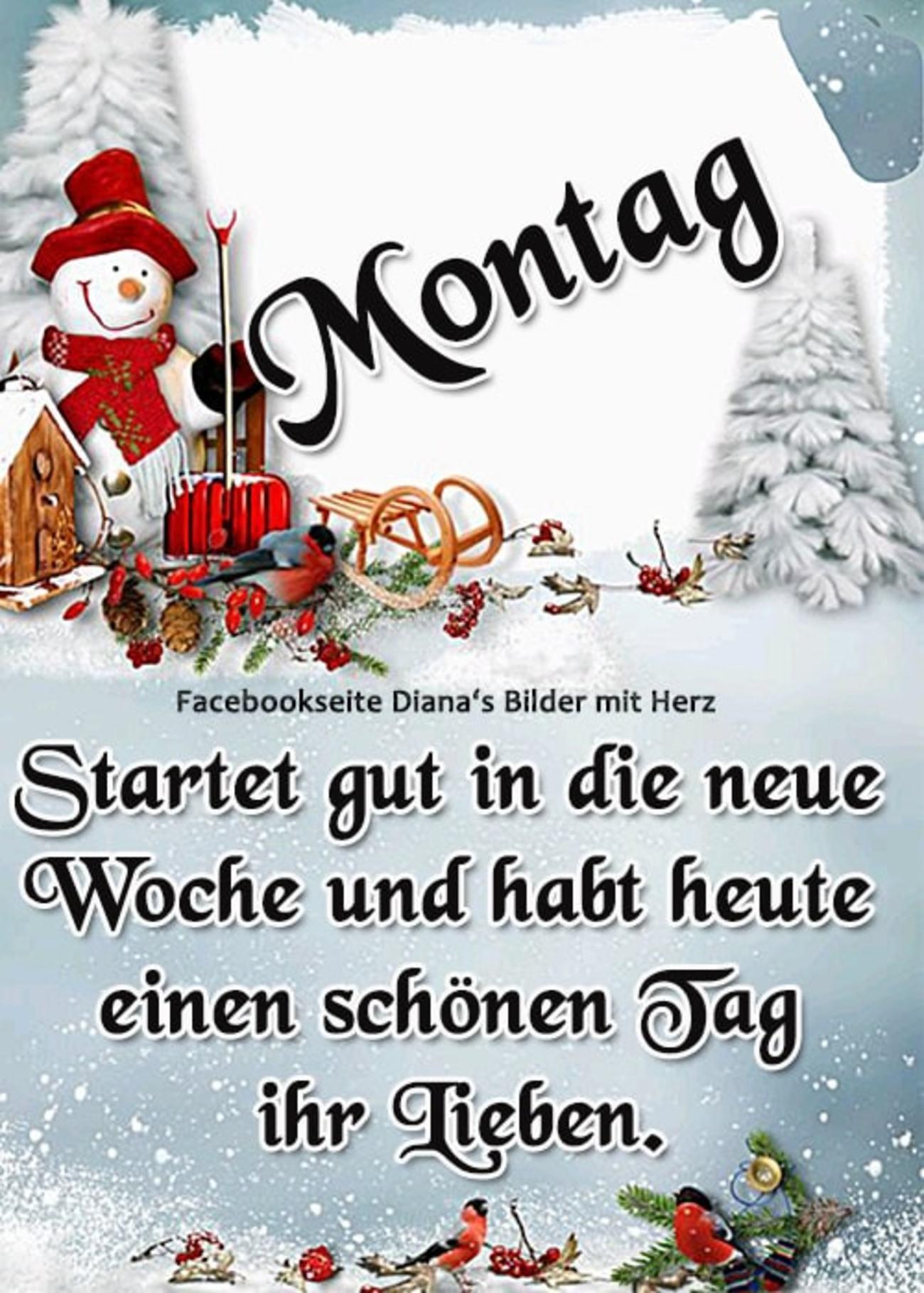 Schönen Montag Weihnachten Bilder 98 Gbpicsbildercom