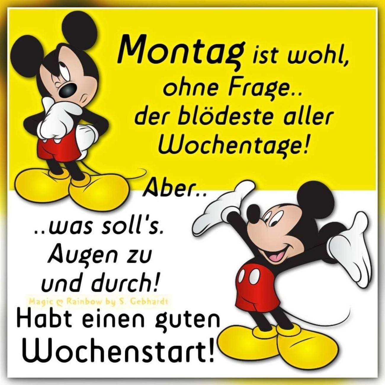 Schönen Montag Bilder Disney Gbpicsbildercom
