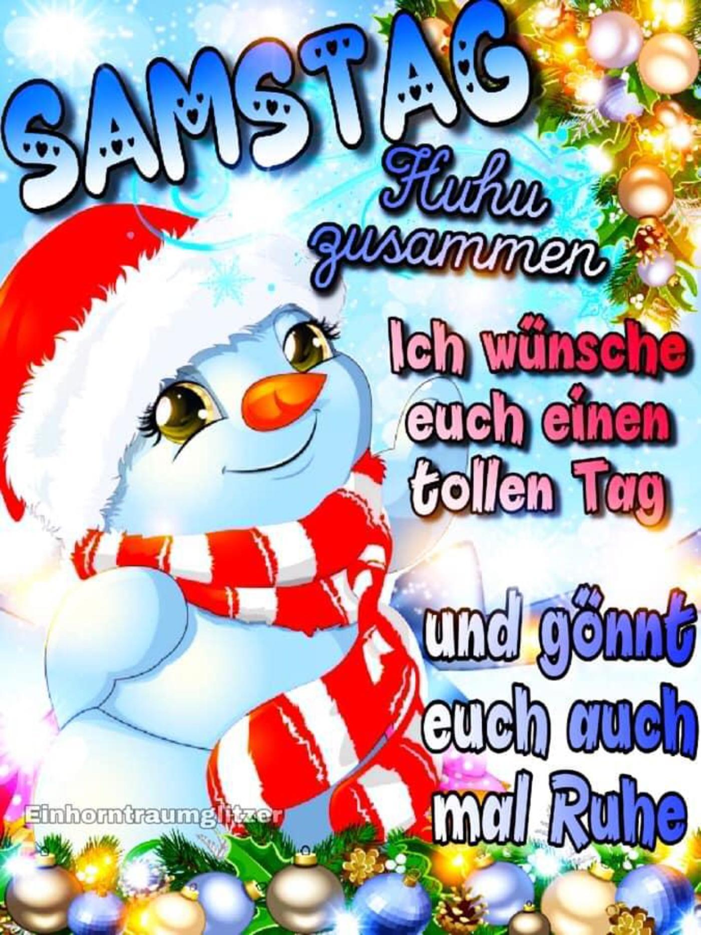 Schönen Samstag Weihnachten 272 - GBPicsBilder.com