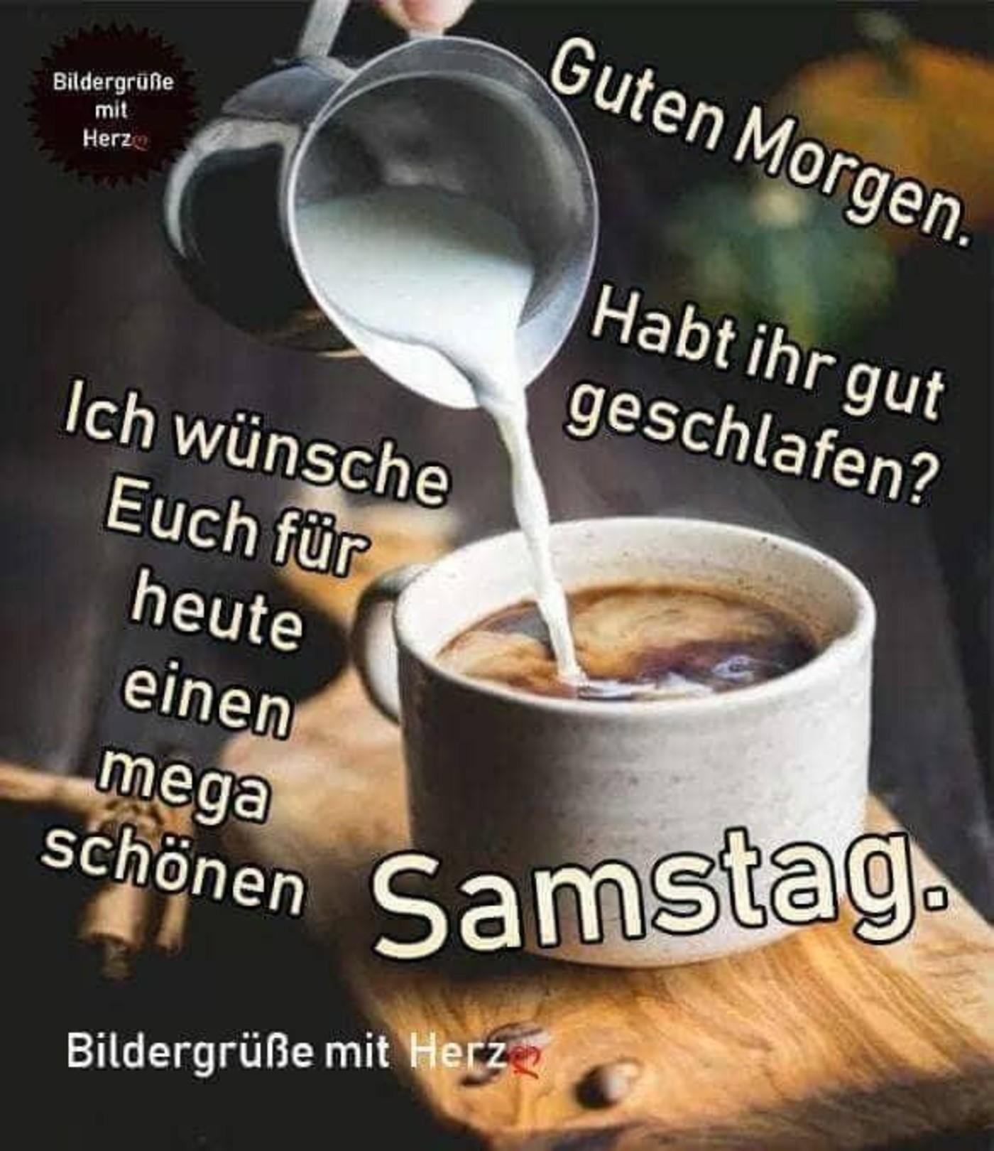 Schönen Samstag Bilder Kaffee 269 Gbpicsbildercom