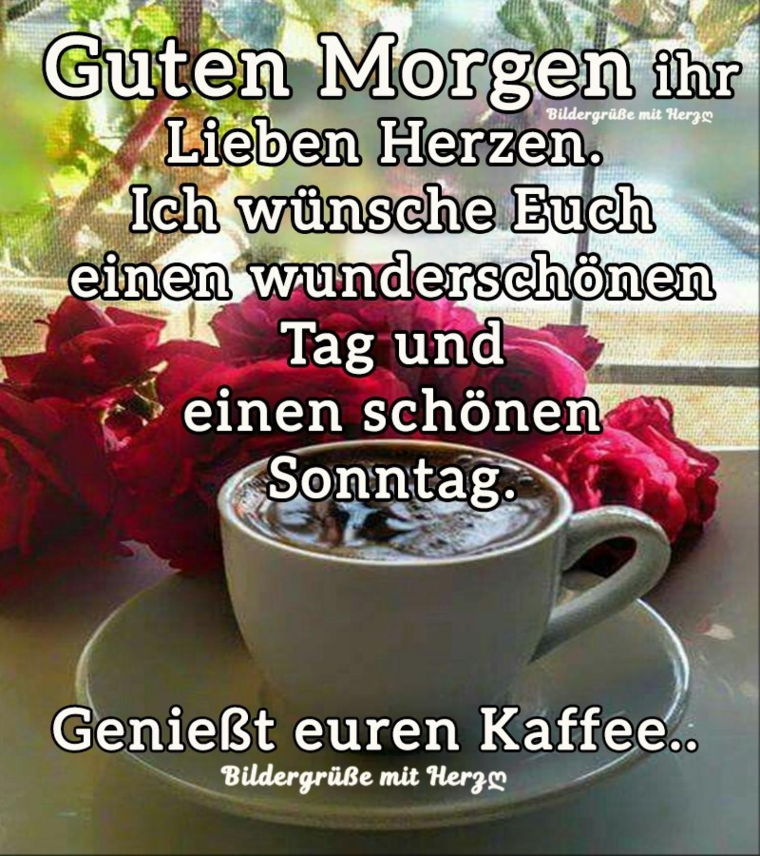 Schönen Sonntag Kaffee Kostenlos Bilder Gbpicsbildercom