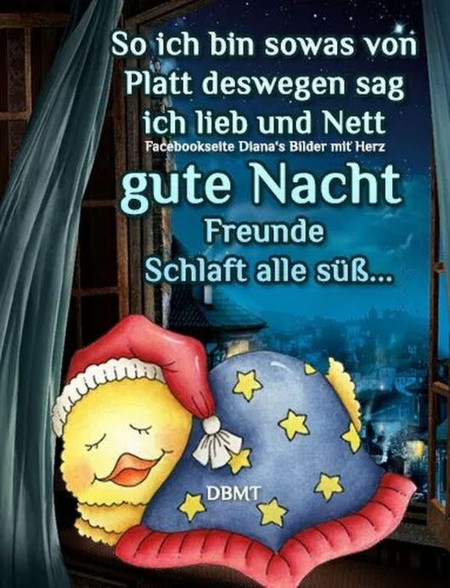 Schlaf gut whatsapp Gute Nacht